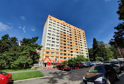 OV 1+1 - 30m², lodžie - ulice Halasovo nám., Brno-Lesná