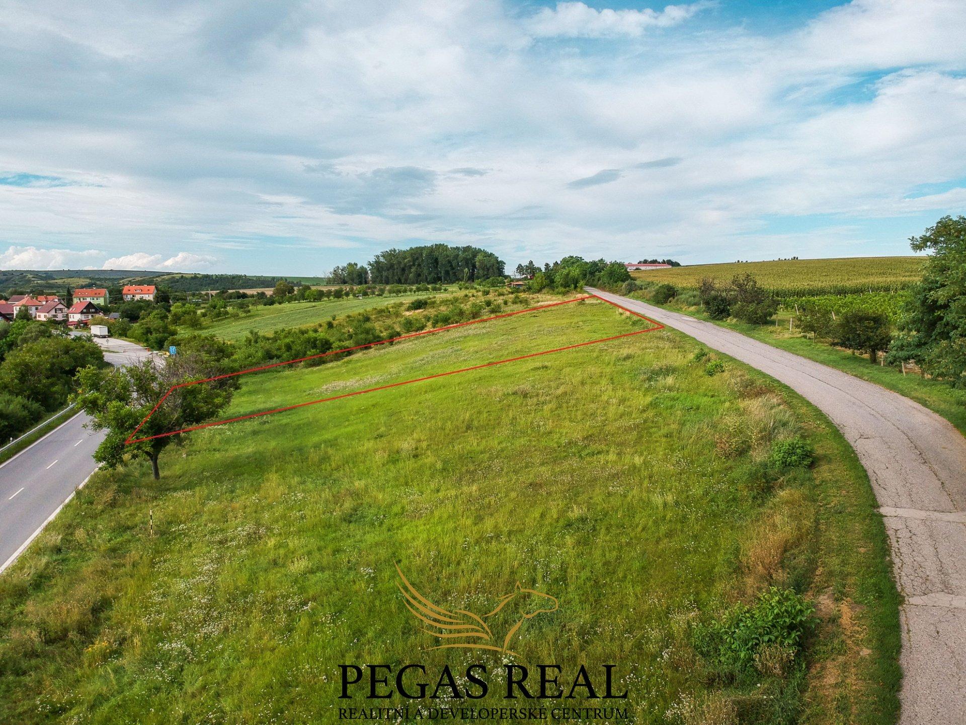 Prodej pozemku pro bydlení, 1104m<sup>2</sup> – Nosislav
