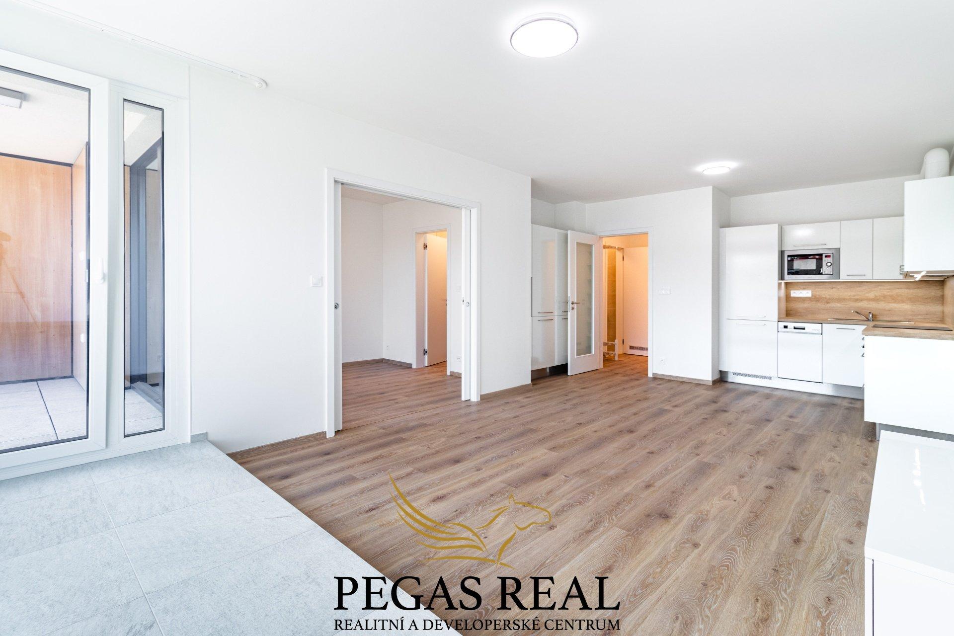Pronájem bytu – Rezidence Ponavia, 2+kk, 60m<sup>2</sup> – Brno – Ponava