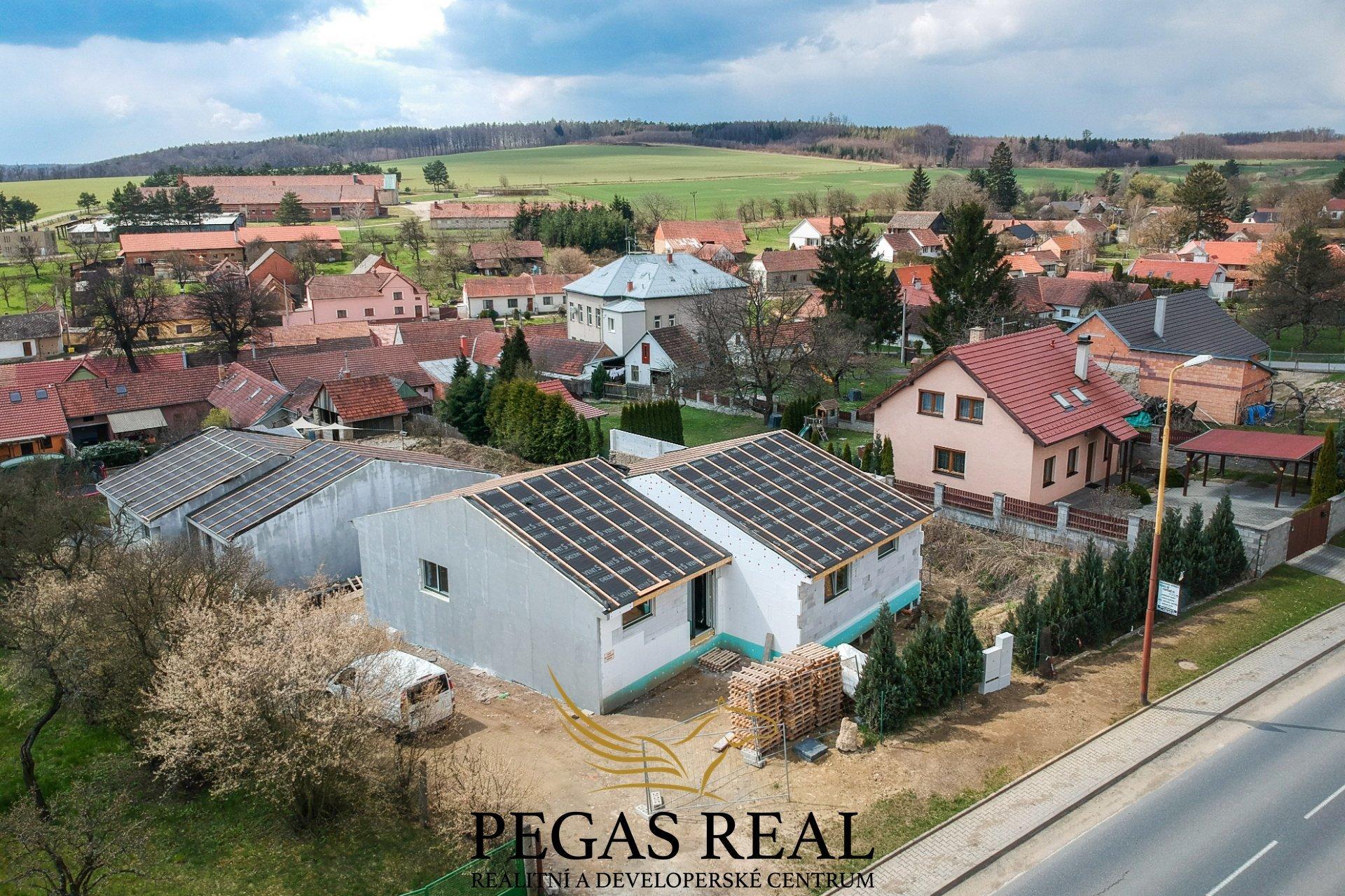 Prodej novostavby RD (bungalov), 144m<sup>2</sup> – Ježkovice