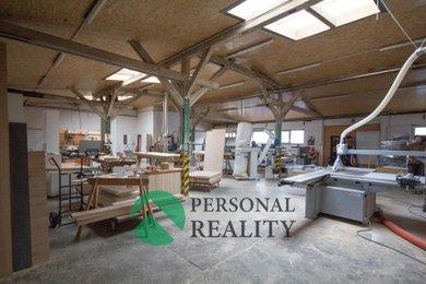 Pronájem, výrobní či skladová plocha, 274-399 m² - Komořany, Ev.č.: 00122
