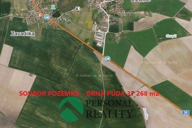 Prodej, Zemědělská půda, 37268m² - Jizbice, Ev.č.: 00206