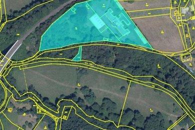 Prodej rozsáhlého areálu na krásném místě poblíž zámku Sychrov, stavební povolení na DPS., Ev.č.: 00025