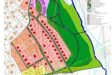 komplexní urbanistický návrh