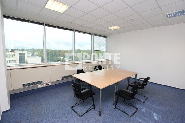 Pronájem kancelářských prostor v administrativní budově Shiran Tower, 64 m2, Praha 6 - Vokovice, ul. Lužná