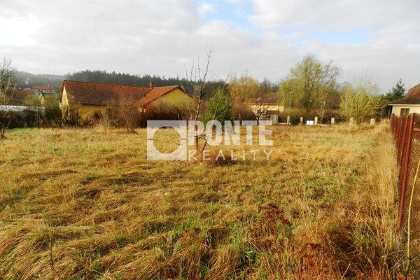 Prodej pozemku pro bydlení, 1.255 m2, obec Žilina, okres Kladno