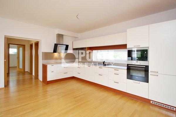 Pronájem bytu 3+kk/B, 95 m2, novostavba, Praha 10, ul. Novostrašnická