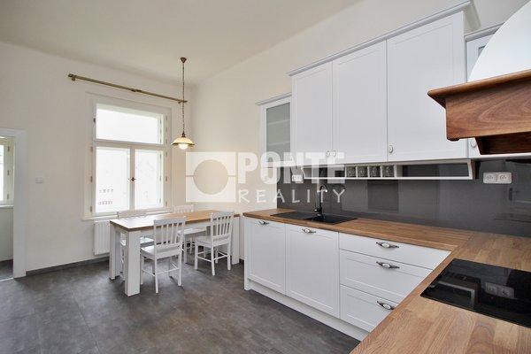 Pronájem bytu s dispozicí 2+1, výměra 77,5 m², 5. NP/6 NP s výtahem, Praha 2 - Vinohrady, ulice Korunní
