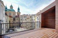 Prodej  bytu 3+1, 122 m², Praha - Staré Město, ul. Jáchymova, 5.NP, OV, mezonet, terasa