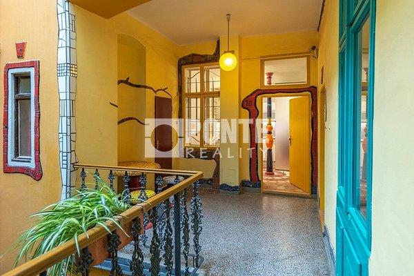 Pronájem bytu 2+kk, 45 m2, ul. Viktora Huga, Praha - Smíchov