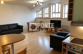 Nabídka pronájmu zařízeného bytu 3+kk, 85 m2, ul. Ruská, Praha - Vršovice, 6.NP/6NP, cihla