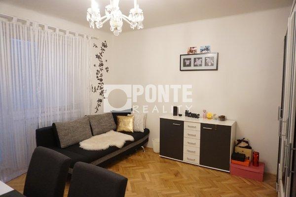 Prodej bytu 1+1/L, 46 m2, ul.Plzeňská, Praha - Košíře, OV, 2.NP, cihla