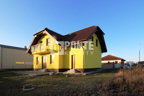Prodej novostavby rodinného domu 6+1 na pozemku 591 m2 v obci Jeneč, okres Praha-západ