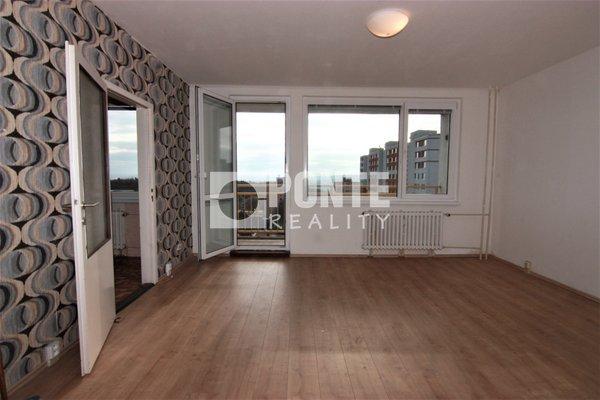 Prodej bytu 4+1 s výhledem, 83 m2, Praha 8 - Troja, Mazurská ul., OV, 9.NP, panel