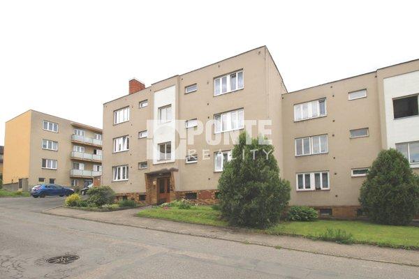 Prodej  bytu 3+1/B/S/G, ul. Družstevní, Čerčany, okres Benešov, DV, 2.NP, cihla