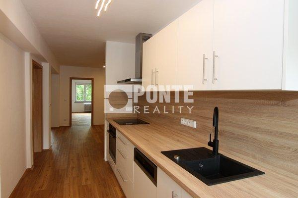 Pronájem bytu 3+1/L, 104 m2, Praha 10, ul. Starostrašnická