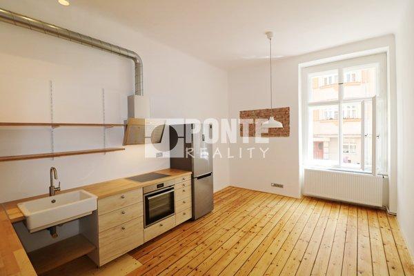 Pronájem bytu 2+1, 72 m², zahrada, sklep, Praha 6 - Dejvice, ul. Wuchterlova