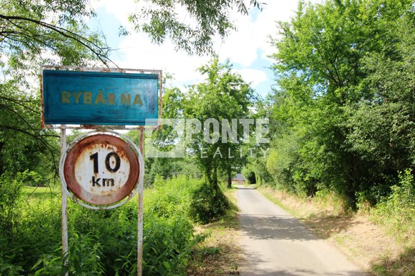 Pozemek na stavbu chaty 704 m2 v obci Křepenice-osada Rybárna, okres Příbram