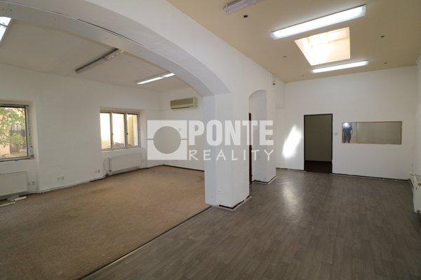 Nabízíme pronájem nebytových prostor 148 m2, v ulici Kateřinská, Praha 2 - Nové Město