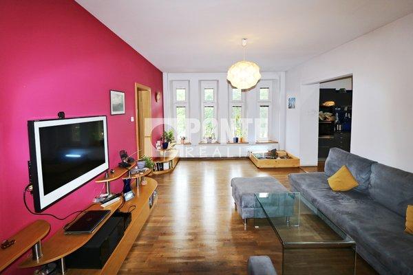 Prodej bytu 5+1,136 m², Praha 4 - Braník, ul. Pikovická, 2 parkovací stání, podíl na nebytových prostorách