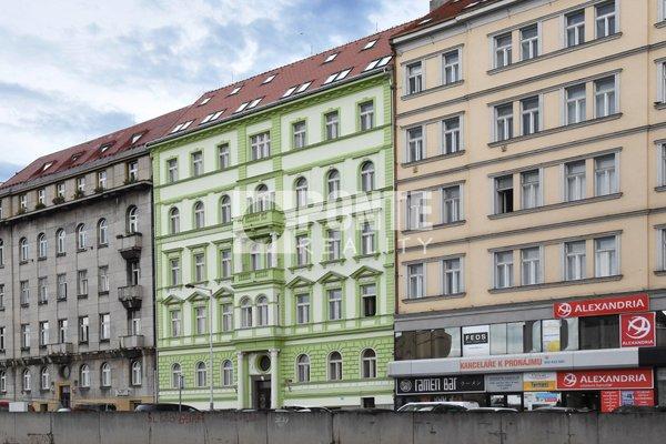 Prodej bytu 1+kk, 16 m2, ul.  Španělská, Praha - Vinohrady, OV, 2.NP, cihla