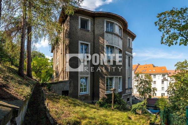 Pronájem bytu 3+KK se zahradou, 75 m², Praha 5 - Smíchov, ul. Na Václavce, 2.NP, nezařízený