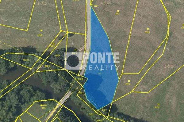 Prodej zemědělských pozemků, 26051 m², Blešno, okres Hradec Králové