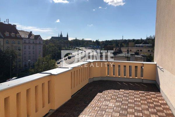 Pronájem bytu 3+1 s pracovnou, 133 m², terasa, Praha 6 - Dejvice, ul. Svatovítská