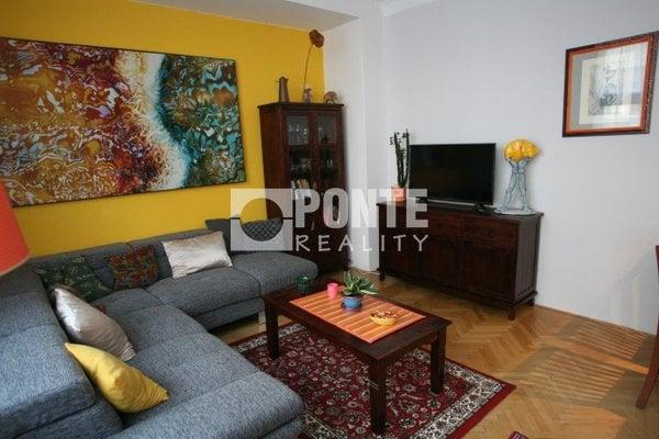 Pronájem bytu 2+1, 55 m², ul. Kubelíkova, Praha 2 - Vinohrady