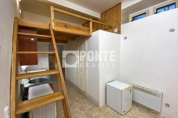 Prodej kancelářských prostorů s bytovým vybavením, 47m², Praha - Strašnice