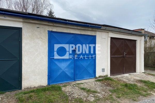 Prodej garáže, 21 m², Kladno, ul. U Cihelny