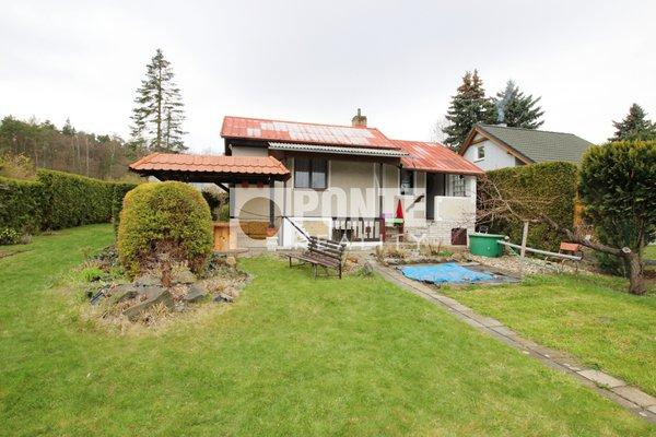 Prodej chaty, 27m², na pozemku 460m² v obci Libušín