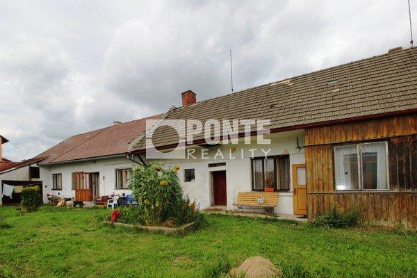 Prodej chalupy 4+1 a 2+kk s možností rozšíření ve městě Strmilov, okres Jindřichův Hradec