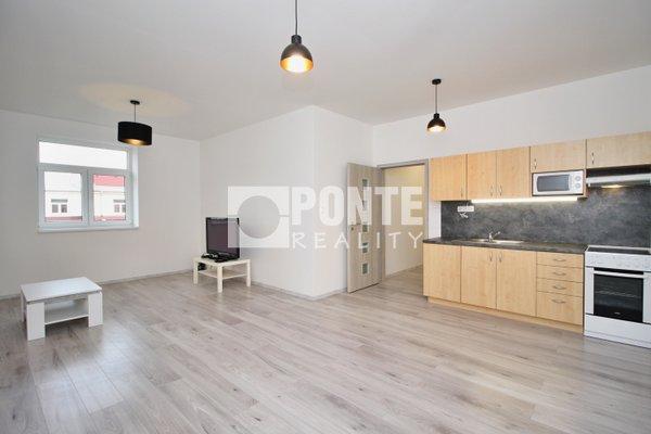 Prodej bytu v novostavbě, 2+kk, 53m², ul. Slepá, Milovice, okres Nymburk, OV, 5.NP, cihlový dům