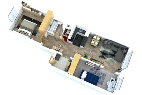 Prodej  bytu Koněvova realitní makléř • realitní kancelář • realitní služby nejen v Praze x7