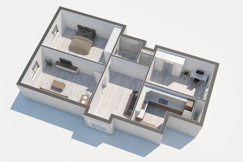 Prodej bytu Libická Půdorys realitní makléř • realitní kancelář • realitní služby nejen v