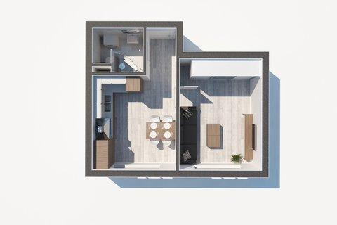 Prodej bytu 1+1 Na Groši, Hostivař, osobní vlastnictví, realitní makléř • realitní kancelár