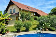 Prodej, rodinný dům 5+kk s dílnou a bazénem, Všechlapy, Nymburk