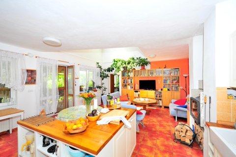 Prodej rodinného domu ve Všechlapech, bazen realitní makléř • realitní kancelář • realitní