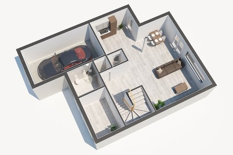 Prodej rodinného domu s bazénem Jirny - realitní kancelář   realitní makléř   reality Praha a okolí