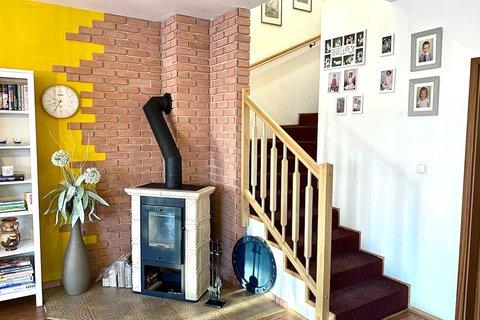 Prodej domu ve Veltrusech realitní makléř | realitní kancelář | reality Praha a okolí půdorys1