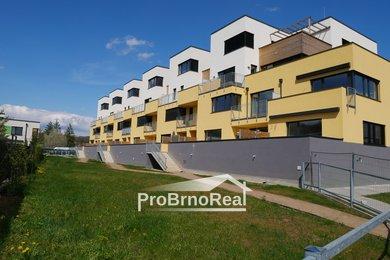 Exkluzivně nabízíme k pronájmu byt 3+KK sterasou a garážovým stáním, Novostavba Brno-Maloměřice, Ev.č.: 00263