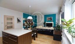 Pronájem krásného bytu v centru Brna, 3+kk, Antonínská