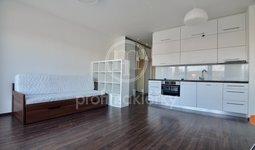 Pronájem krásného bytu 1+kk, 33m² s 20m² terasou a garážovým stáním - Brno - Obřany