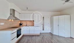 Pronájem novostavby bytu 1+kk, 41m² s parkovacím místem, Spolková, Brno