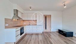 Novostavba bytu 1kk, 41 m2, k pronájmu, parkovací místo, Spolková, Brno
