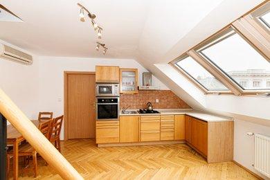Pronájem bytu  3+kk, 75m² - Praha 3 - Žižkov, Ev.č.: 100228