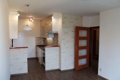 Pronájem kompletně zrekonstruovaného bytu 2+kk, komora, sklep, 43 m2, Králův Dvůr Nad Stadionem, Ev.č.: RkBe88