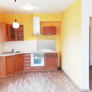 Prodej zděné novostavby bytu v OV 1+kk, Brno - Žebětín, ul. Pod Kopcem, CP 37 m2, tepelné čerpadlo - nízké náklady.