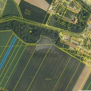Prodej parcely v obci Hajany o ploše, 3476m² - obec Hajany